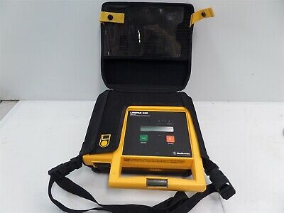 Medtronic Lifepak 500 Aed With Carrying Case - As Is - Untested