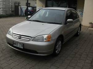 2001 Honda Civic GLi Auto, 109,104kms (one owner) Marleston West Torrens Area Preview