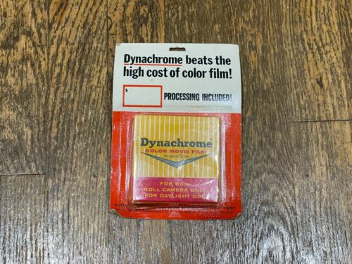 Dynachrome SEALED Color Movie Film For 8mm Roll Camera 25 Feet 1960