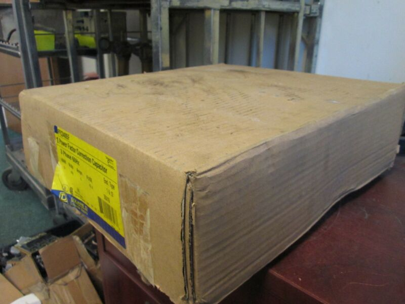 Square D Power Factor Correction Capacitor PFCD4005F 5 KVAR 480V 3PH New Surplus