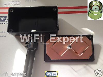 WiFi Antenna 2.4Ghz Mini BiQuad MACH 5B Tripod Wireless Booster Long Range G/N