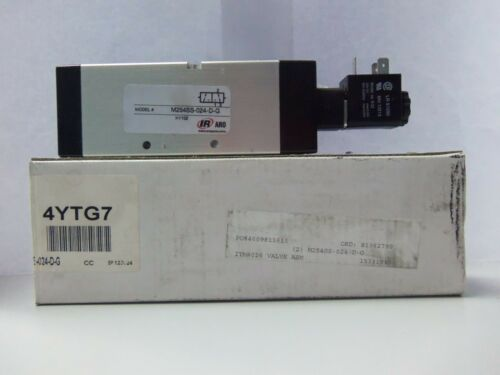 New Ingersoll-Rand M254SS-024-D-G Solenoid Valve NIB