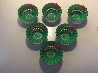 GENUINE HOOVER CANDY DISHWASHER UPPER BASKET WHEEL PACK OF 4 WHEELS 49005662