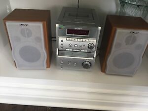 Sony radio and CD and cassette