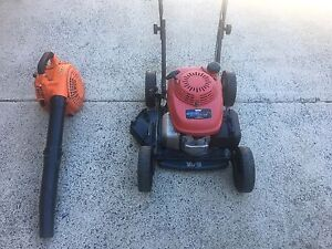 Victa Honda Slasher/Utility Mower With Blower Birkdale Redland Area Preview
