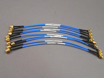 Cables Lot of 6 pcs for National Instruments NI PXIe Rigid SMA-to-SMA 5 inc