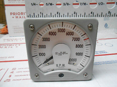 302d052-2 Westinghouse Rpm 0-10000 920 Volts Peak To Grid 4 Face New Old Stock