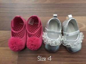 Baby girl shoe lot sizes 4-5
