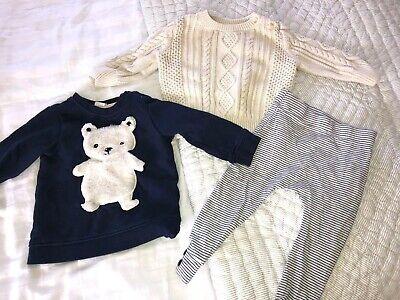 H&M Baby Gap 9-12 Months Jumper Bundle Boys Girl Unisex