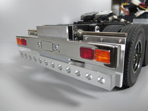 Aluminum Rear T-bar Bumper Guard w 8mm hole Tamiya 1/14 King Grand Hauler