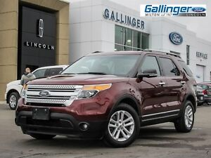 2015 Ford Explorer XLT w/NAVIGATION AND HEATED LEATHER