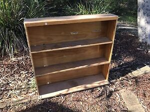 Wooden Bookshelf Frenchs Forest Warringah Area Preview