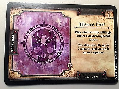 D&D Fortune Card Hands Off Promo 2 from PAX Rare