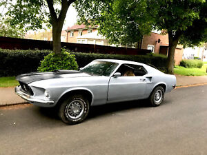 1969 Ford Mustang Fastback V8 Manual Classic 69 Restoration Project - John Wick