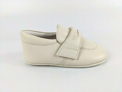 Andanines Baby Ivory Leather Shoes Uk 3 Eu 19 New