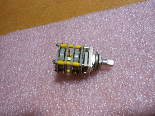 ELECTRO SWITCH ROTARY SWITCH PART # 3762-2  NSN: 5930-00-843-0551
