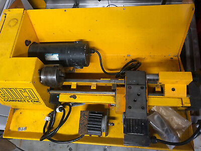 Emco Compact 5 Cnc Lathe With Chuck - Needs Electrical Retrofit