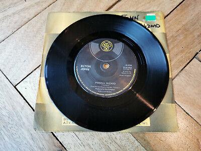 "elton john pinball wizard 7"" vinyl record very good condition"