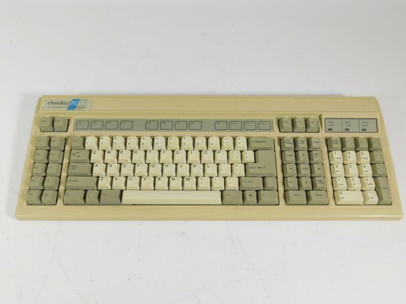 Northgate OmniKey Plus Vintage Mechanical Keyboard SN 913264