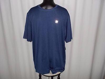 Solid Tech T-shirt (FILA SPORT TECH T-SHIRT POLY BLEND SOLID BLUE SHORT SLEEVE SIZE 2X CHEST 50