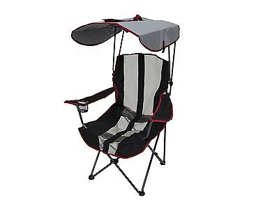 Kelsyus Premium Canopy Foldable Outdoor Lawn Chair with Cup Holder, Red | 80187