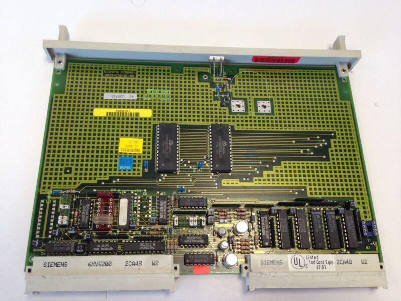 USED SIEMENS SIMATIC 6ES5340-3KB42 C79040-A322-C33-01-86 MEMORY Module BOARD DC