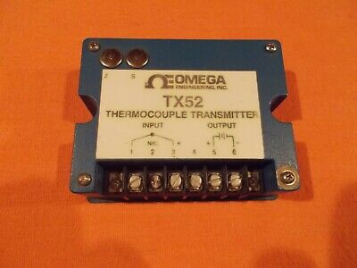 Omega Tx52-t1 Thermocouple Transmitter
