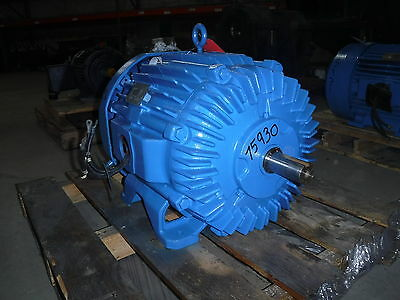 75 Hp Siemens Electric Motor 3600 Rpm 365ts Frame Tefc 460 V 1.15 S.f.