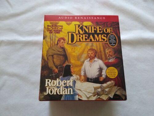 Wheel of Time: Knife of Dreams: Book Eleven Robert Jordan 26 CDs Unabridged