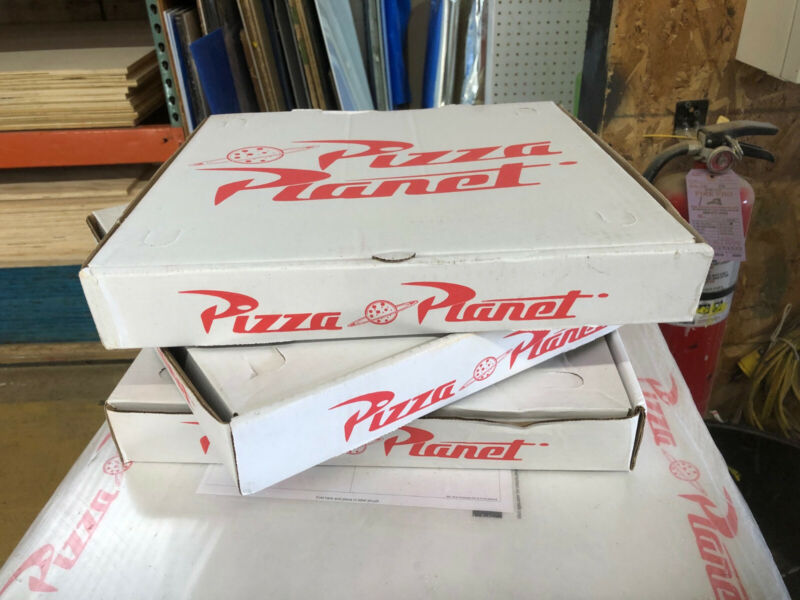 Toy Story Pizza Planet Box Prop Replica Full Size Printed Custom