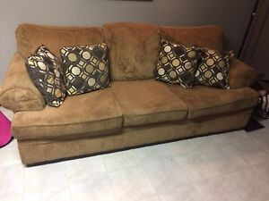 Comfy old corduroy Couch