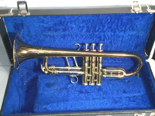 Vintage 1948/49 YORK FEATHER TOUCH MASTER Cornet brass Instrument
