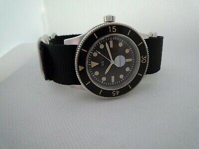 Time Arrow  FIFTY FATHOMS US vintage submariner DIVER 316L MIYOTA