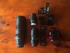 Nikon D3200 with Lense kit Taroona Kingborough Area Preview