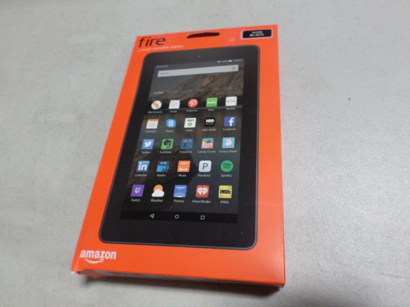 Amazon Fire Tablet 5th Generation 16GB, Wi-Fi, 7in - Black