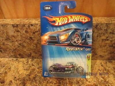 2005 HOT WHEELS FE REALISTIX AIRY 8 PURPLE 4/20 #004 (V)