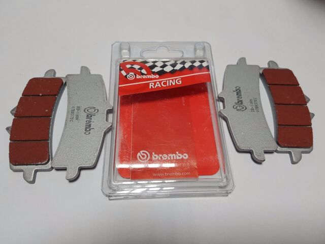 4 FRONT BRAKE PADS BREMBO SINTERED SC DUCATI PANIGALE R 1200 2014
