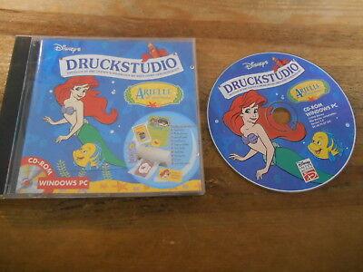 SPIEL PC CD-ROM Disney Druckstudio Arielle (1 Disc) DISNEY INTERACTIVE / 1998 jc