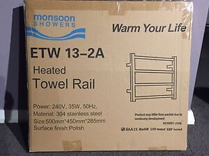 Heated towel rail NEW Illawong Sutherland Area Preview