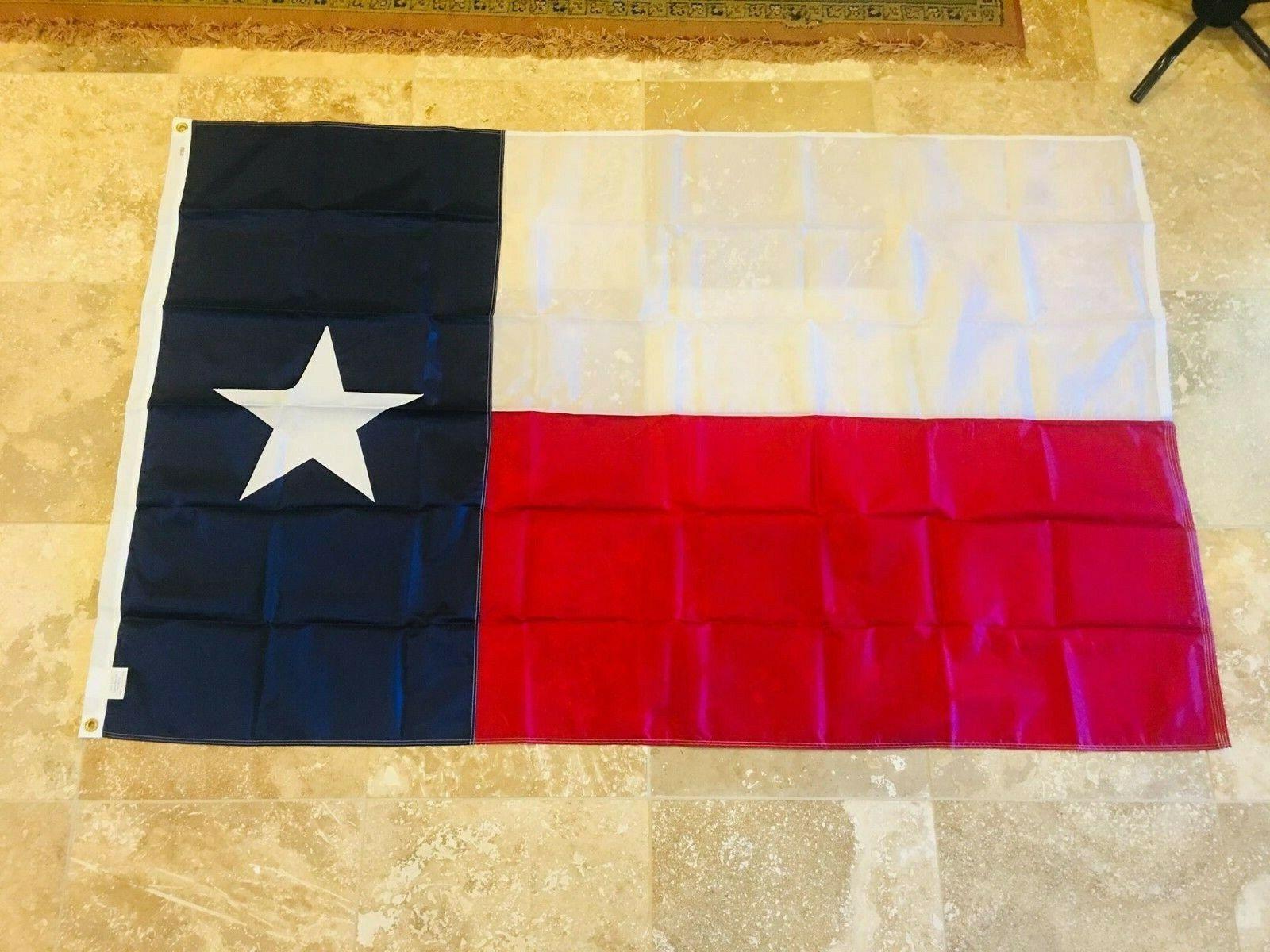 Annin Flagmakers 4x6 3x5 5x8 Texas State Flag 4x6 ft Nylon S