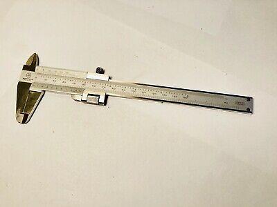 Mitutoyo Vernier Caliper 0-6 0-150mm Range In Dual Scale - Stainless Hardened