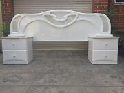 3 PIECE BED HEAD SET WITH DRESSER Coburg North Moreland Area Preview