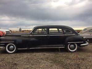 1947 Chrysler Imperial Limousine/1947 Chrysler Saratoga
