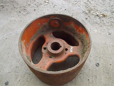 Ac Allis Chalmers Wd Wd45 45 Tractor Cast Iron Ac Flat Belt Pulley