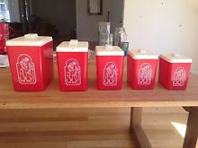 Retro kitchen canisters Inverleigh Golden Plains Preview