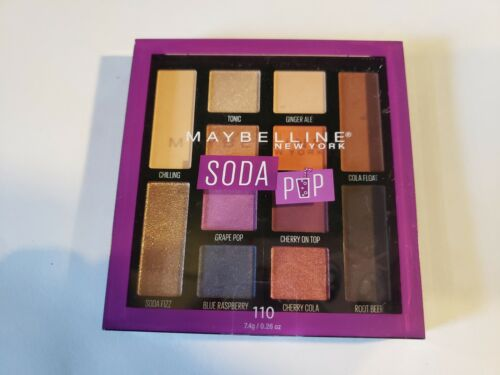 eyeshadow palette makeup 110 soda pop free