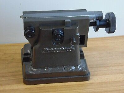 Bridgeport Milling Machine Rotary Table Tailstock 5-6 Center Height W Riser