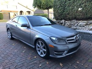 2013 Mercedes c350 4matic coupe, fully loaded