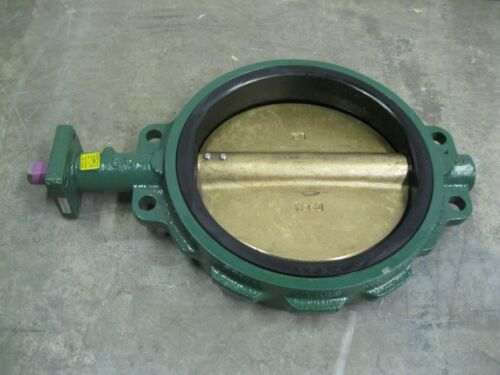 "12"" Crane Center Line 200 Wafer Butterfly Valve CI/Al Br/EPDM NEW Z99 (2606)"