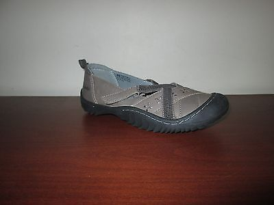 (JAMBU Morgan Women's Brown Vegan Sports Loafers Ballet Flats Shoes 6M)